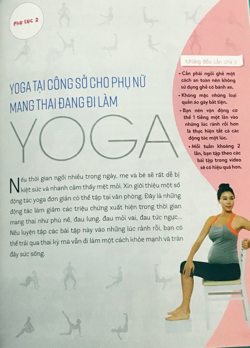 Yoga cho bà bầu: Sách hay mẹ cần đọc ngay