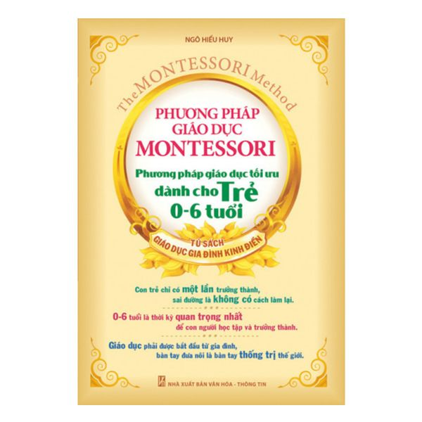 Download sách Phương pháp giáo dục Montessori - Phương pháp giáo dục tối ưu dành cho trẻ 0 - 6 tuổi PDF miễn phí
