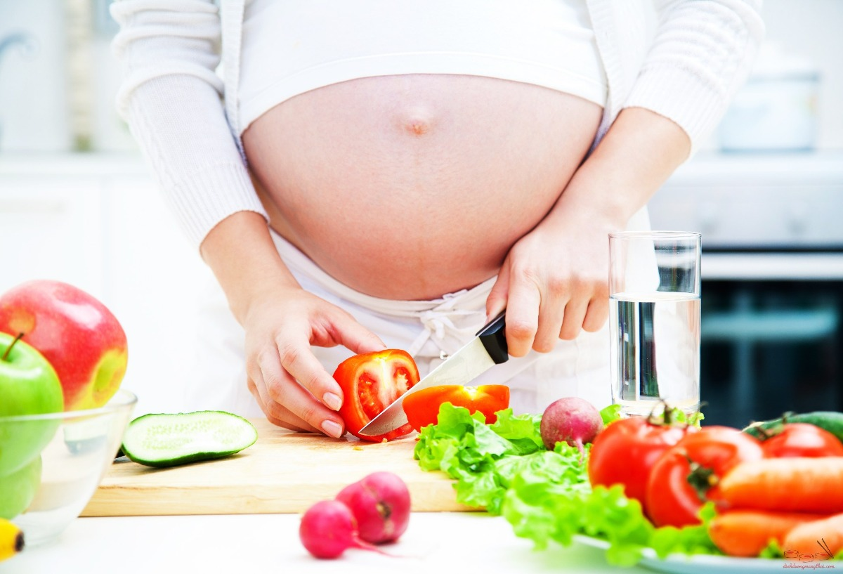 Chế độ dinh dưỡng cho mẹ mang thai