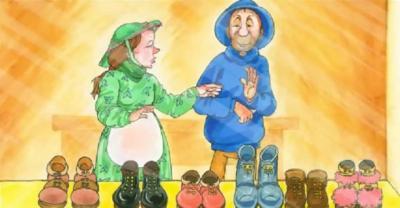 Truyện thai giáo cho thai nhi thông minh: Những chú yêu tinh và bác thợ giày